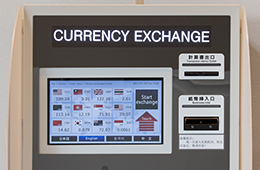 Foreign currency exchange machine (1F)