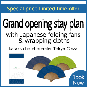 Opening Stay Plan - Ginza