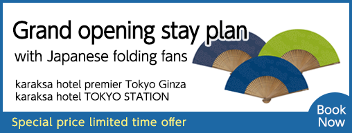Opening Stay Plan – Ginza & Tokyo Station