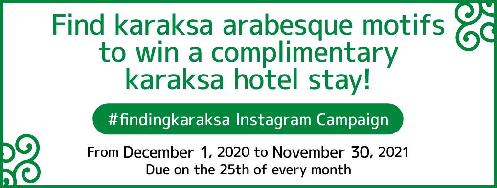 #findingkaraksa Instagram Campaign
