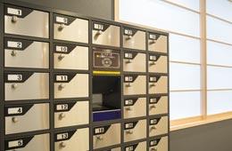 免费储物柜(1楼)