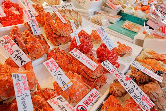 札幌二条市场