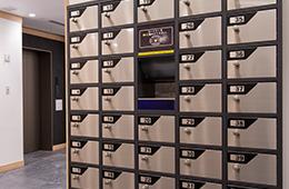 免費置物櫃(1樓)
