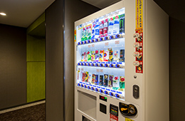 自販機コーナー(5階・9階)